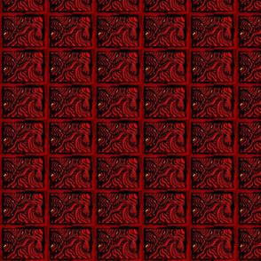 Blood Red Swirls