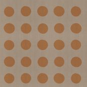Masai Mara Linen Neutral - Copper Dots