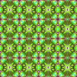 Green Starburst Blocks