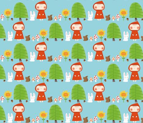 Woodland Creatures fabric by shereeboyd on Spoonflower - custom fabric