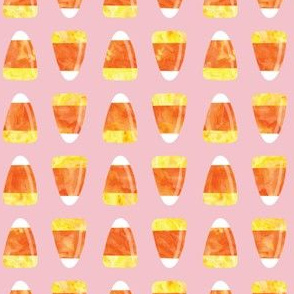 Candy corn - pink - halloween candy - LAD19