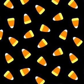 Candy corn - black - halloween candy - LAD19
