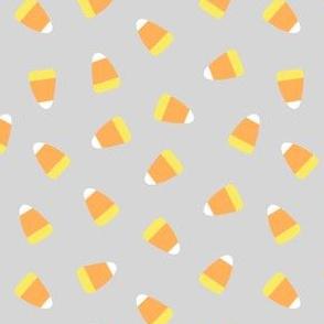 Candy corn - light grey - halloween candy - LAD19