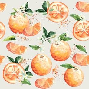 Coastal Orange Blossoms // Cararra