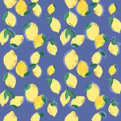 Lemon Party in Blue