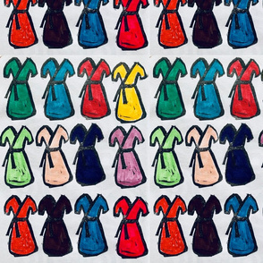 a dress in every color