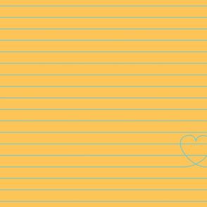 Love Note {Apricot PMS 135}