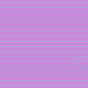 Love Note {Lilac PMS 2572}