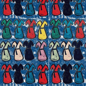 a dress in every color BLUE