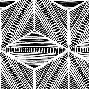 BW Kaleidoscope Tribal