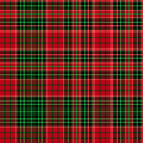 Christmas tartan based on Ogilvie (red/green)