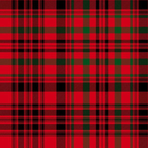 Christmas tartan based on Campbell of  Loudoun, 12""