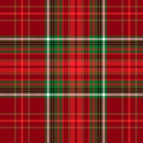 Christmas tartan based on Anderson azure