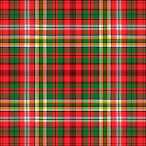 Christmas tartan based on Waggrall