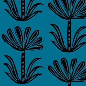 seven petals BLUE