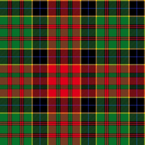 Christmas tartan based on Ochiltree