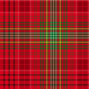 Christmas tartan based on MacRae Kinnoull