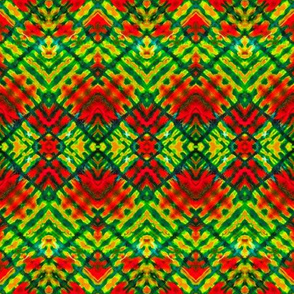 Zigzag Tropical Color