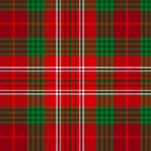 Christmas tartan based on Kennedy dress
