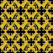 Hufflepuf royal tapestry