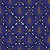Raven claw royal tapestry