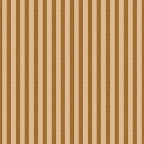 Narrow Stripes In Tan And Brown