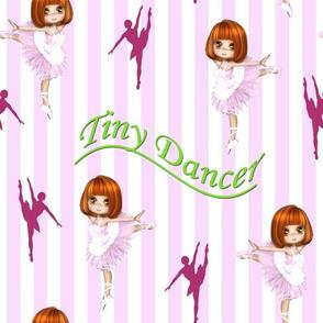 Tiny Dancer - pink stripes