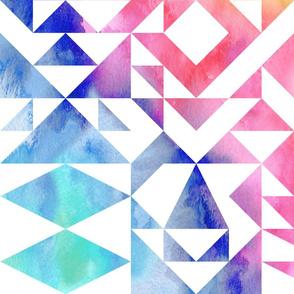 Rainbow Quilt- large