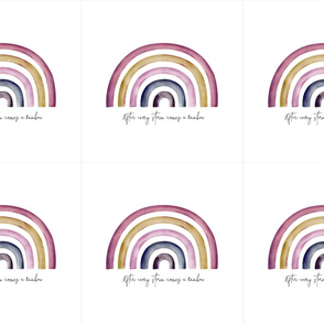 Candy Rainbow Loveys 6UP rainbow cushions