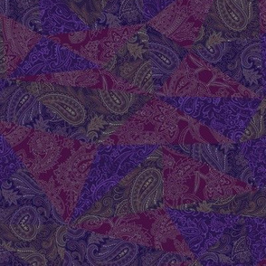 Patchwork Paisley - Deep Purple