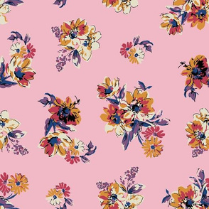 Fiona Floral - Pink