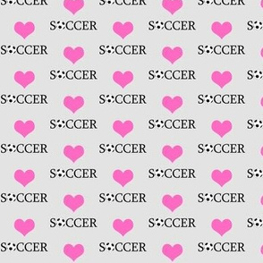 _Heart Soccer Grey
