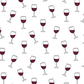 It's the weekend red wine glasses party drinks girls merlot pinot noir