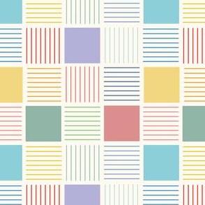 multi square tiles