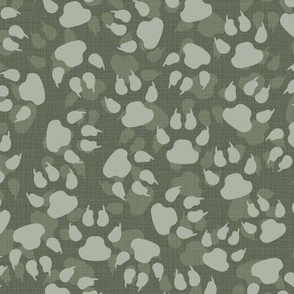 Jungle Tracks Gray Green