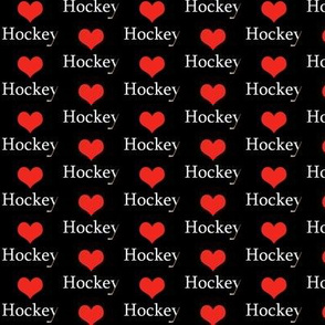 _Heart Hockey black