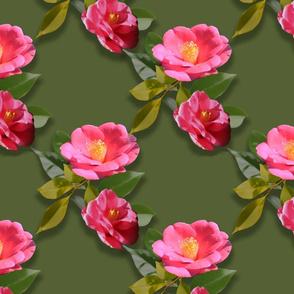 Camellia Garden Chinoiserie Printemps Grande