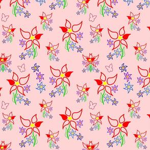 Daisy Delight - pink