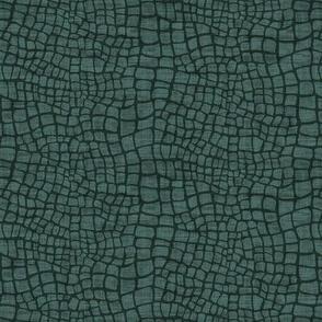 Crocodile Skin  - Green