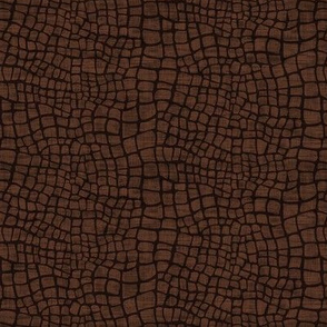 Crocodile Skin - Brown
