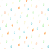Finger Paint Polka Dots