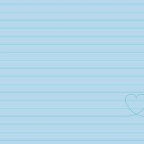 Love Note {Blue PMS 290}