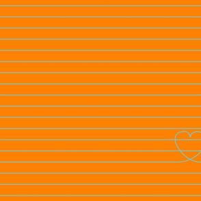 Love Note {Orange PMS 151}