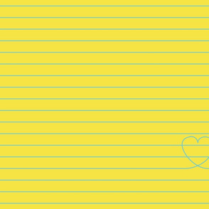 Love Note {Yellow PMS 106}