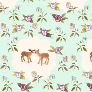 Fawns in Love_NEW_Palest Mint