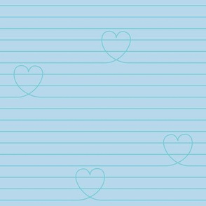 Love Notes {Blue PMS 290}