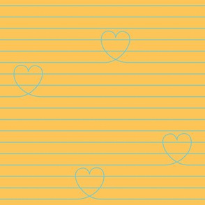 Love Notes {Apricot PMS 135}
