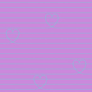 Love Notes {Lilac PMS 2572}