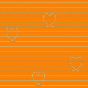 Love Notes {Orange PMS 151}