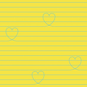 Love Notes {Yellow PMS 106}